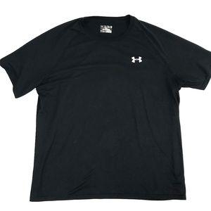 Under Armour Shirts - Under Armour Black HeatGear Loose Tee XL